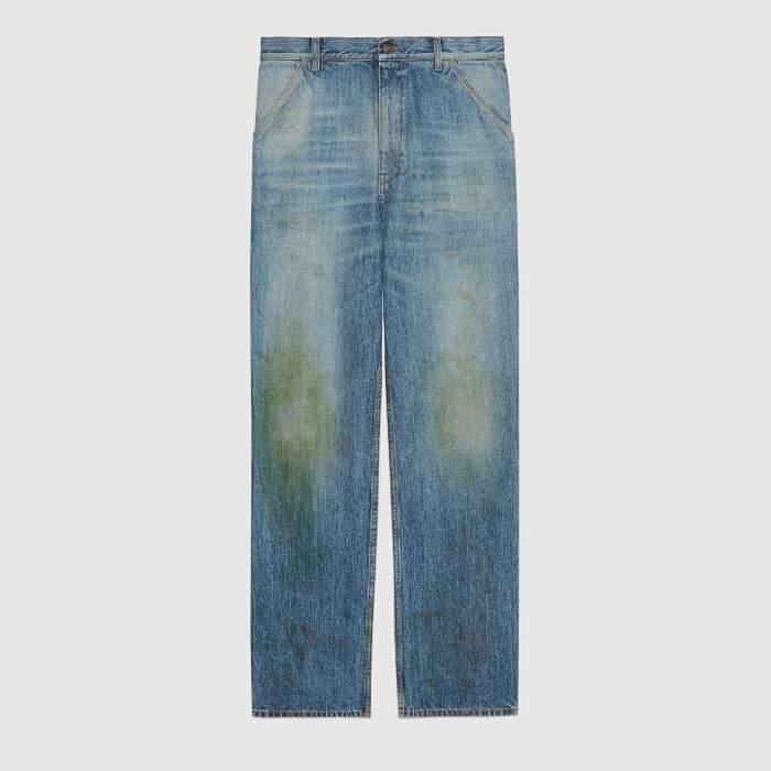 gucci jeans erba