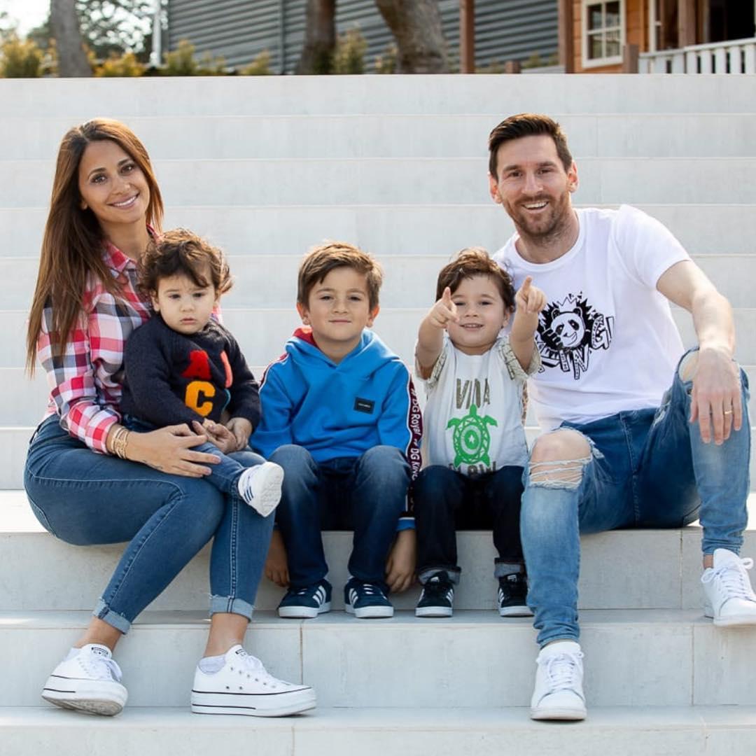 lionel messi famiglia
