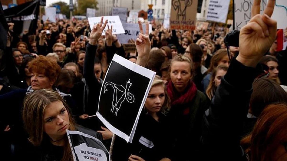 Divieto aborto polonia: sciopero
