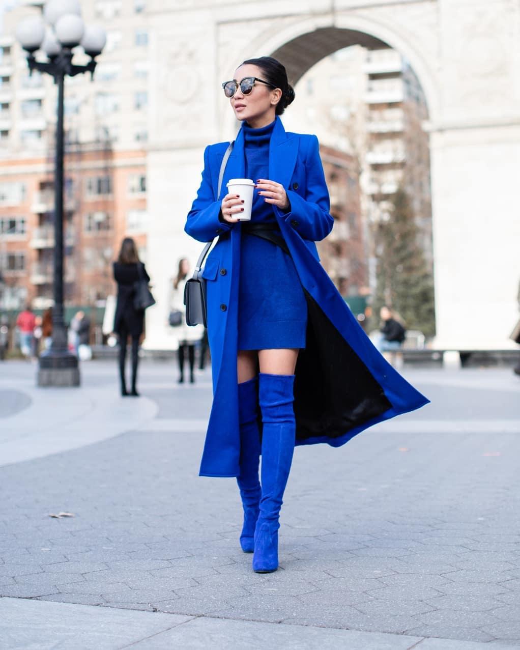 abbinamenti con il blu