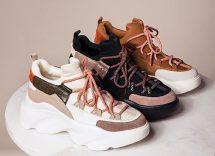 chunky sneakers autunno inverno 2020-21