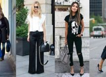 come abbinare jeans neri