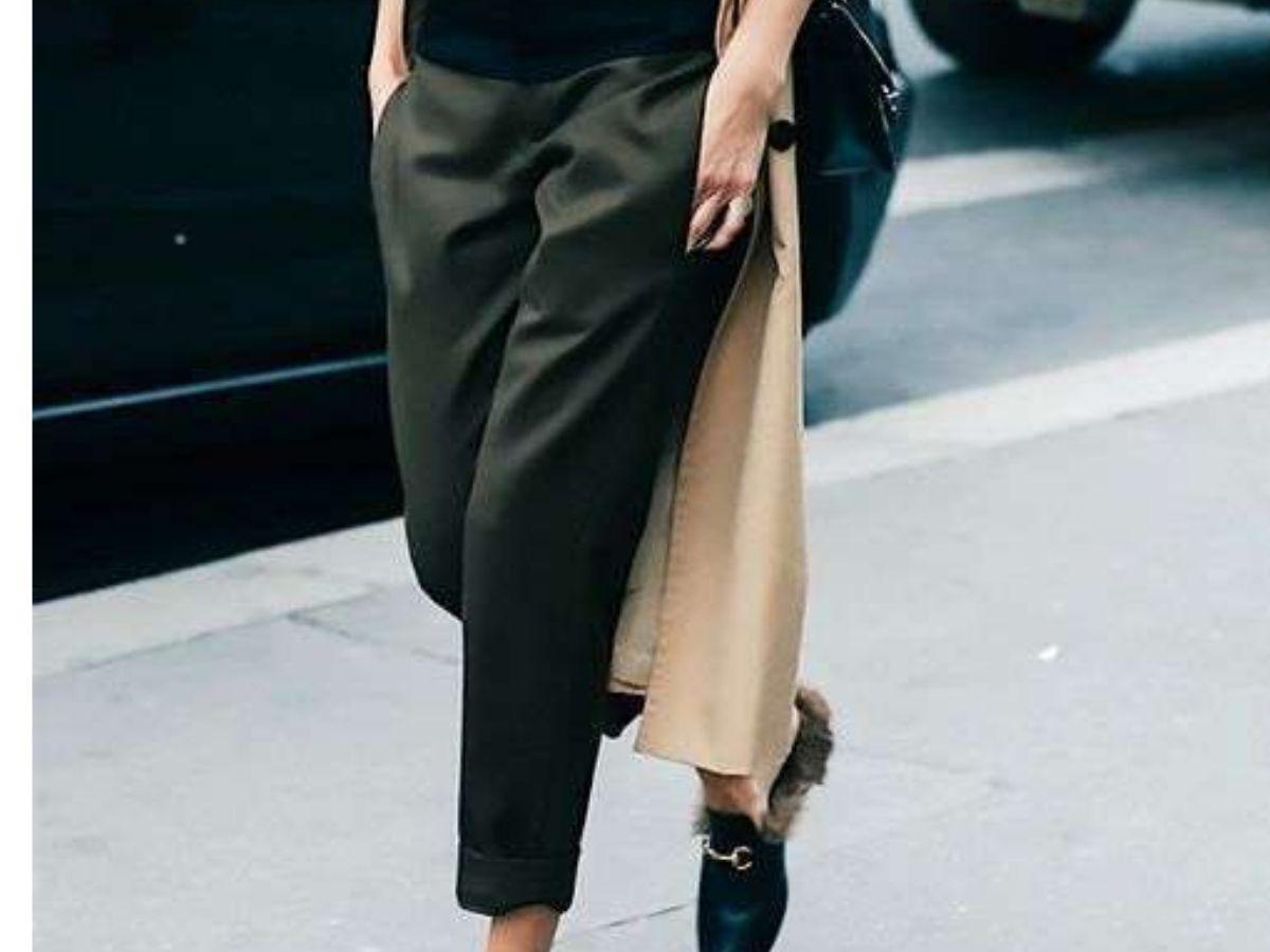 come indossare pantaloni neri