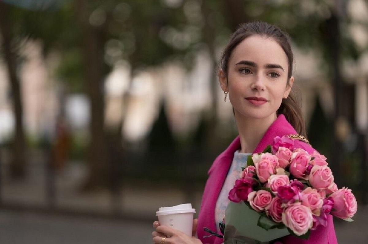 Emily in Paris, tutti i look di Lily Collins nella serie tv Netflix