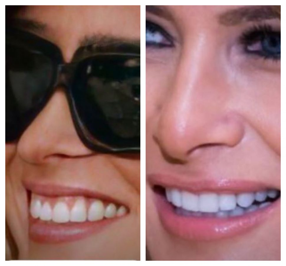 Melania Trump sorriso