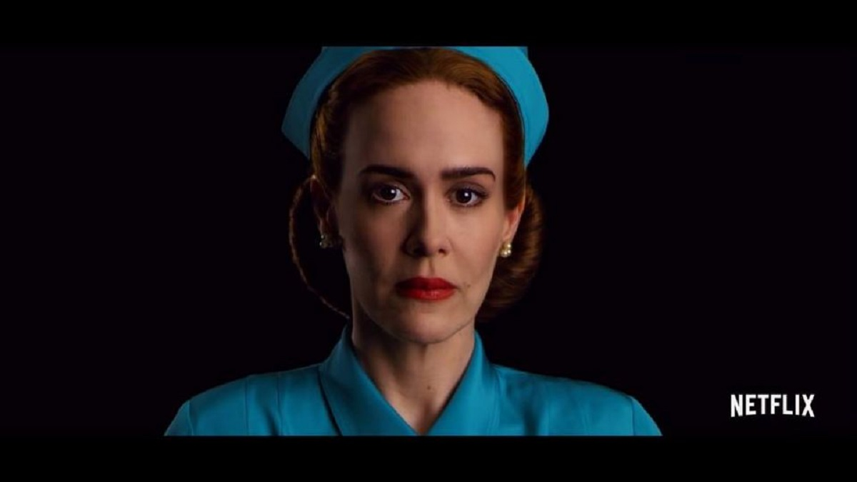 ratched sarah paulson look