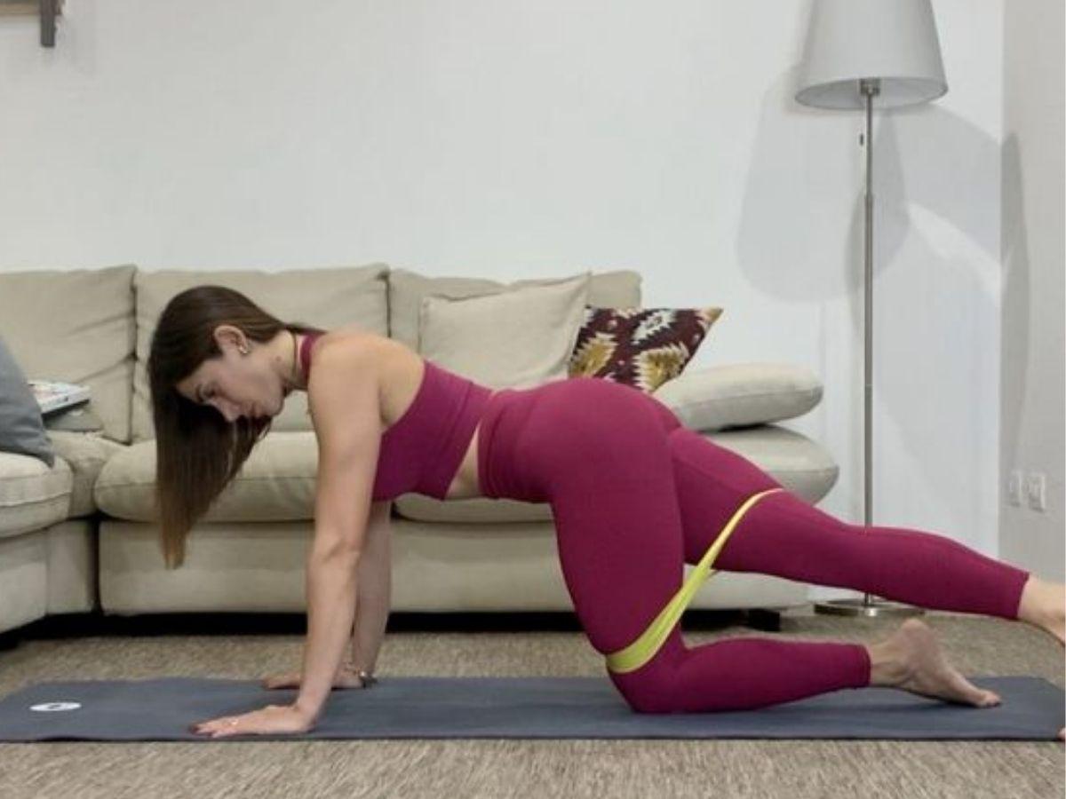 stretching glutei come fare
