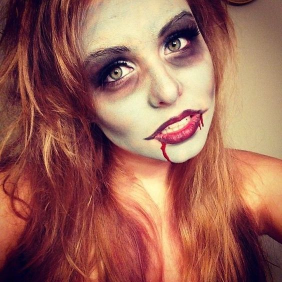 trucco halloween fai da te