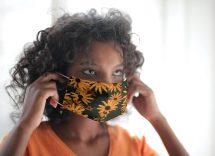 come disinfettare la mascherina di stoffa