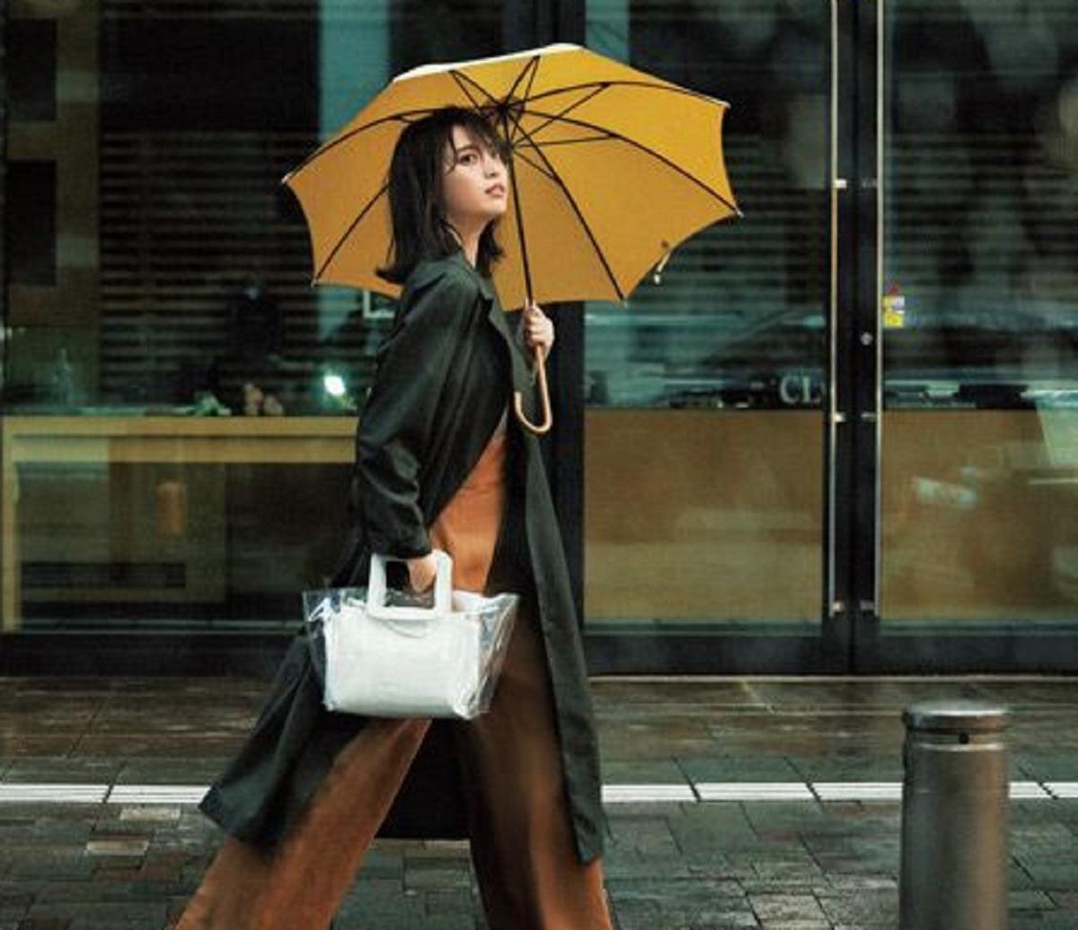 come vestirsi in caso di pioggia forte