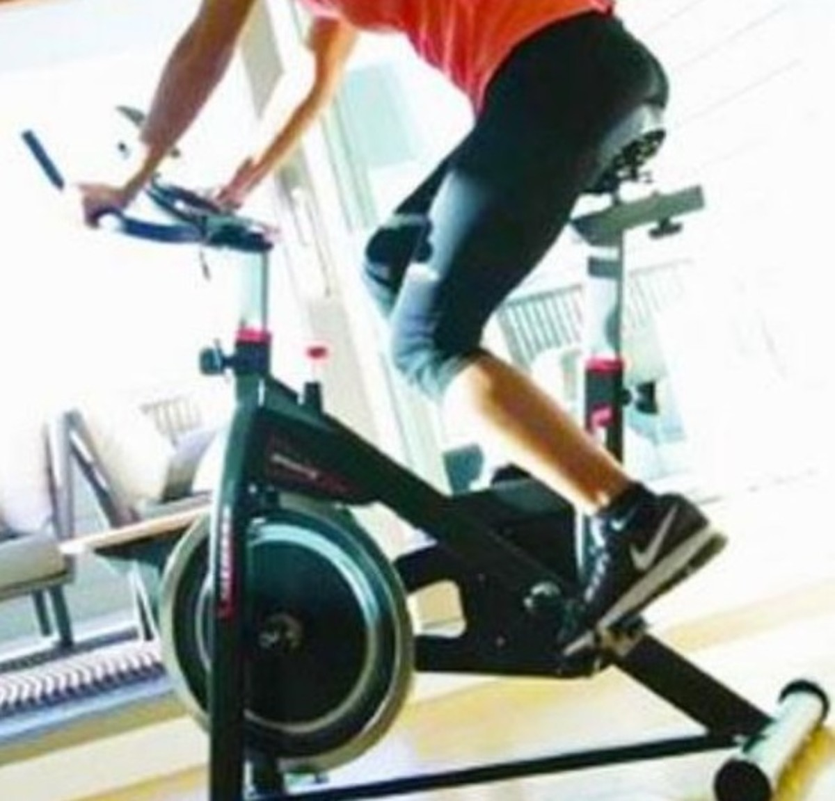 cyclette da allenamento