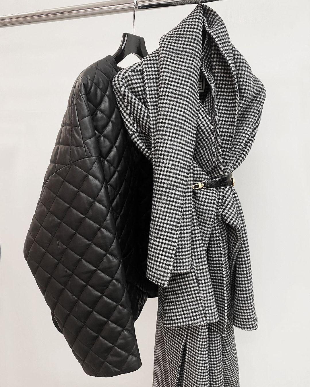 giacca trapuntata