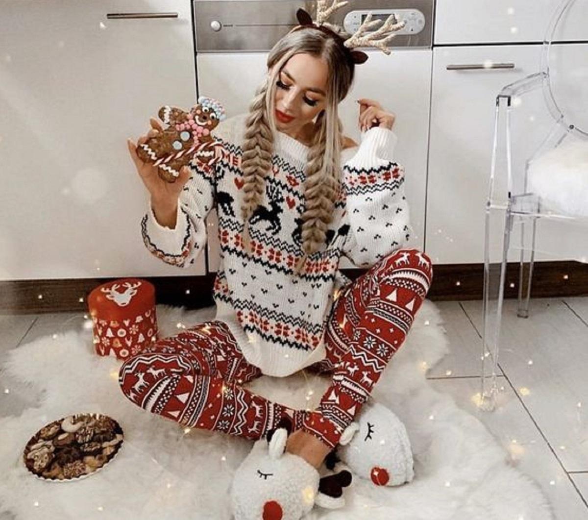 come vestirsi a Natale in casa