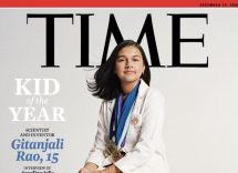"Chi è Gitanjali Rao, la ""Kid of the year"" sulla copertina del Time"