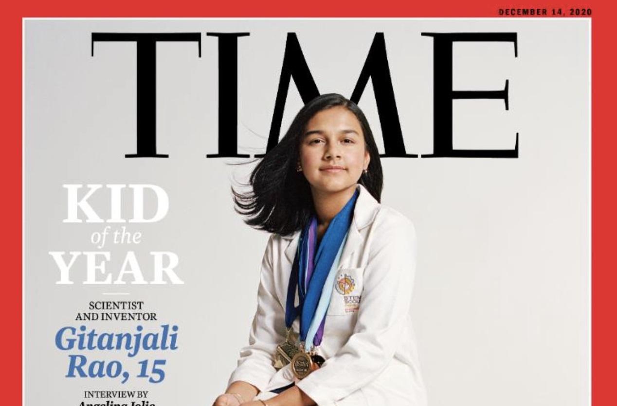 """Chi è Gitanjali Rao, la """"Kid of the year"""" sulla copertina del Time"""