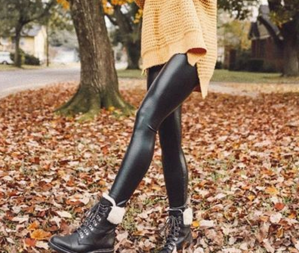 leggings termici tendenze inverno