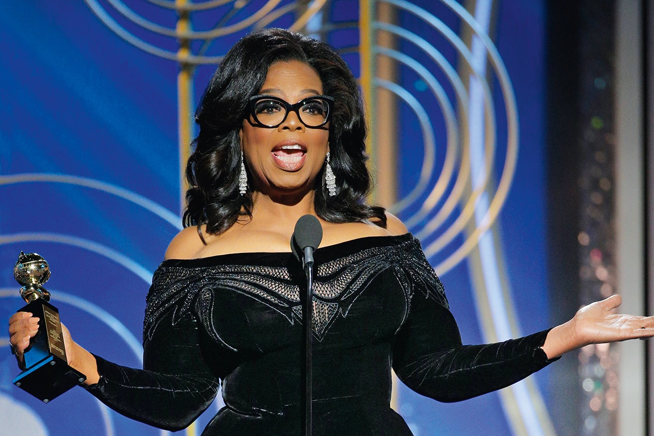 chi è oprah winfrey