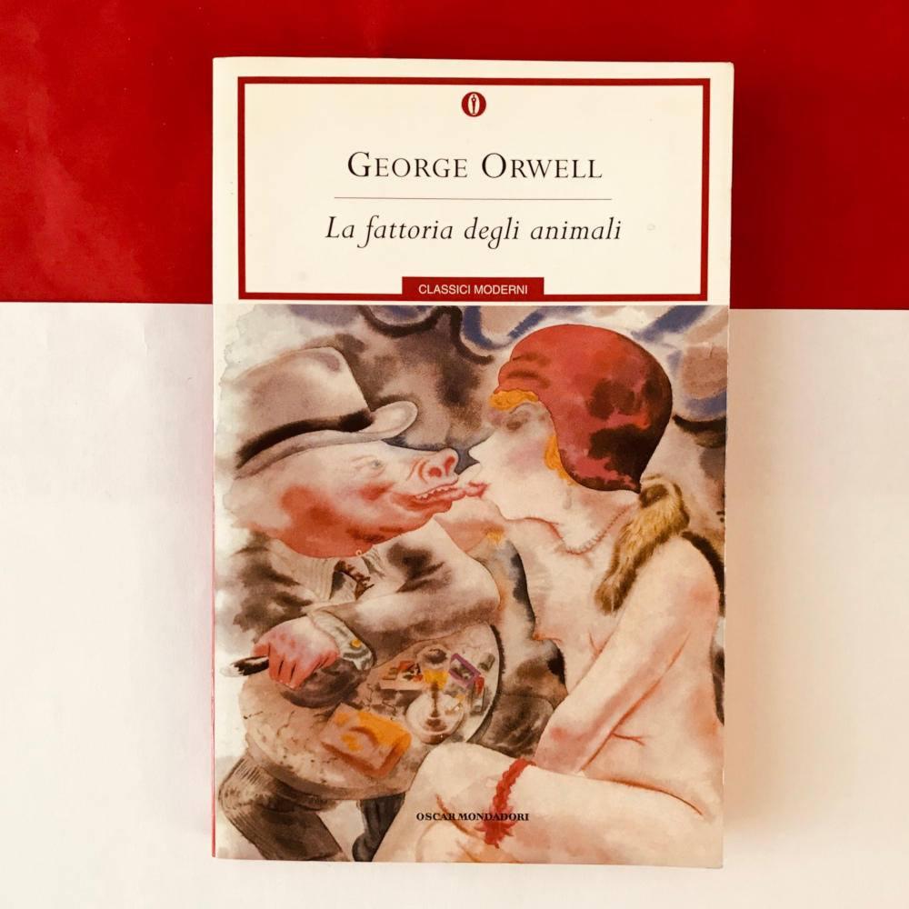 chi era george orwell