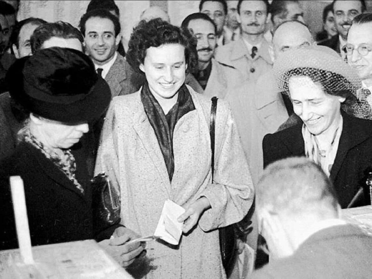 1 febbraio 1945 diritto di voto alle donne