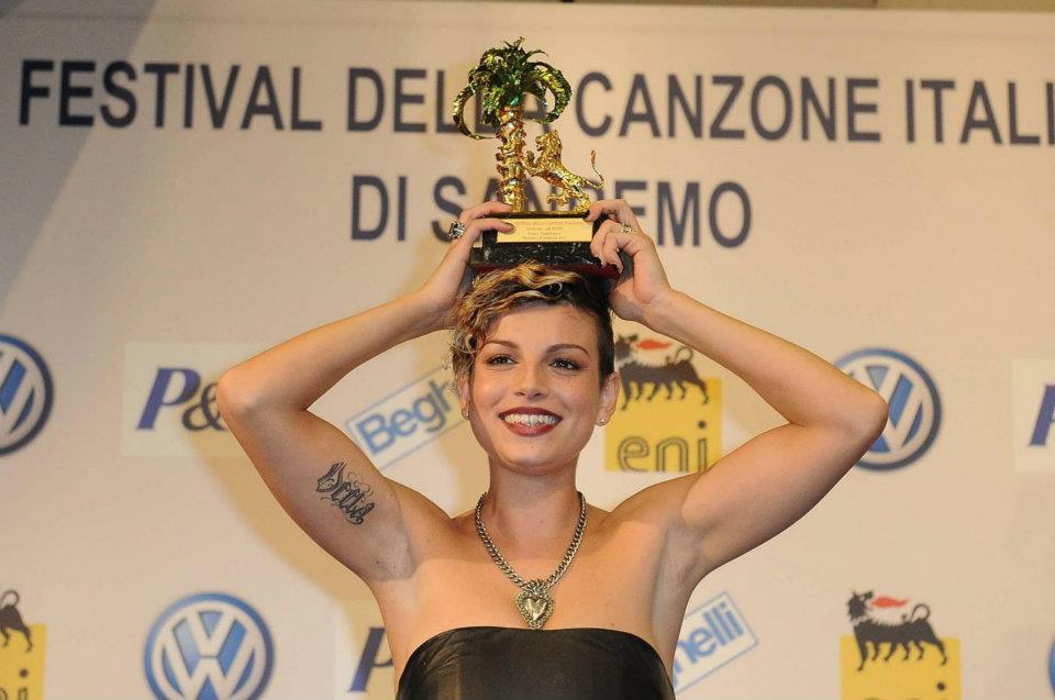 emma marrone sanremo 2012