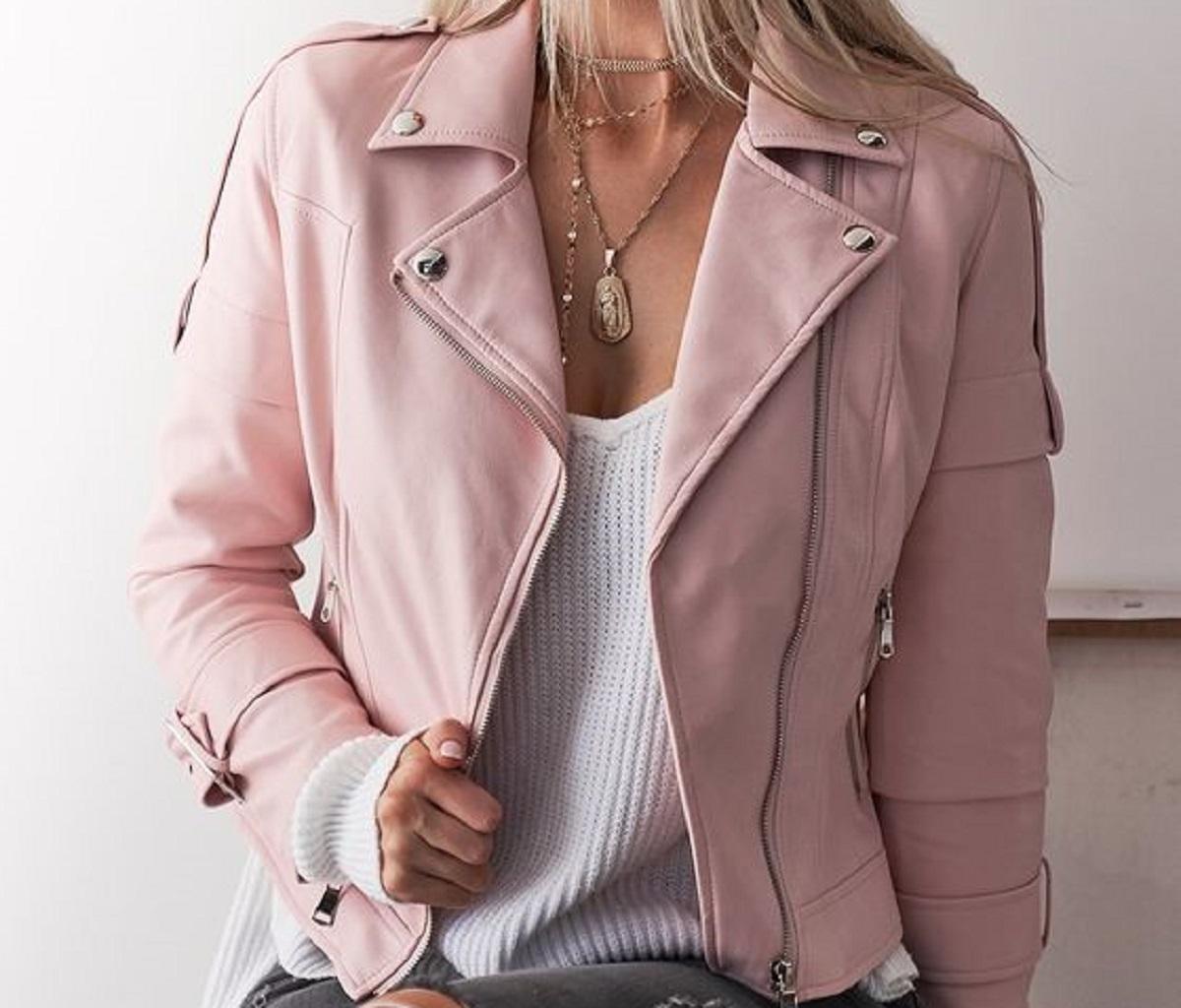 giacche pelle primavera 2021