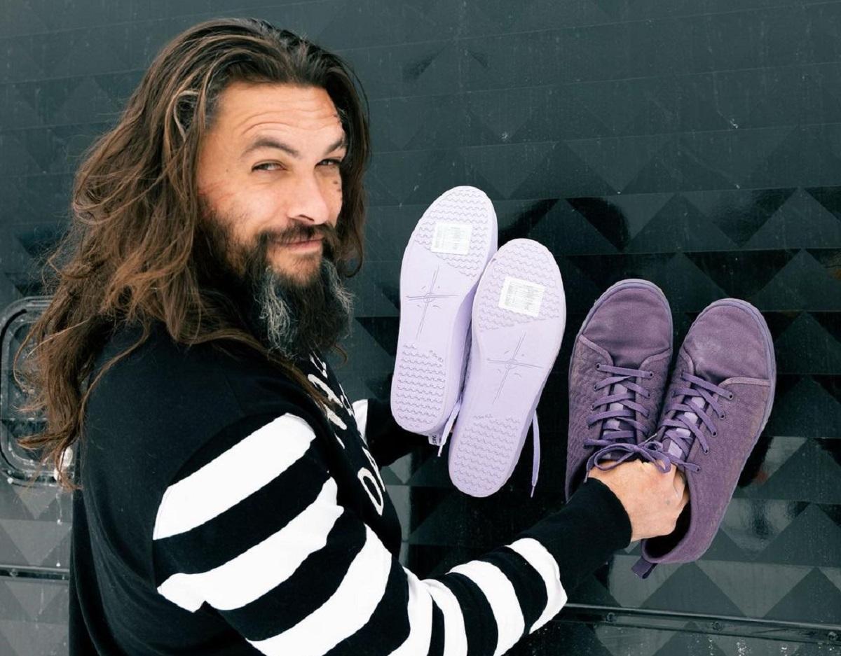 jason momoa scarpe vegane