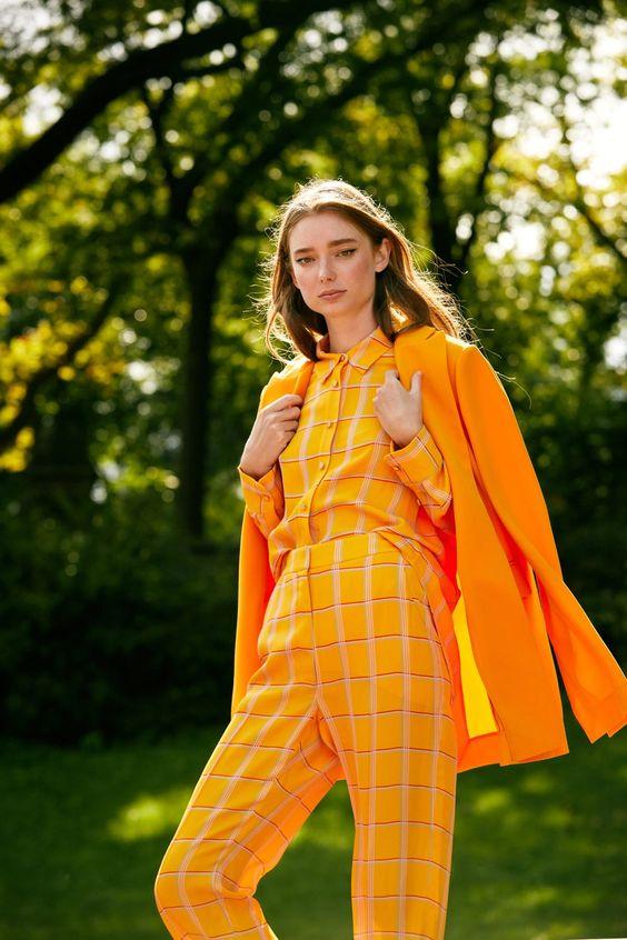 arancione colore tendenza primavera 2021