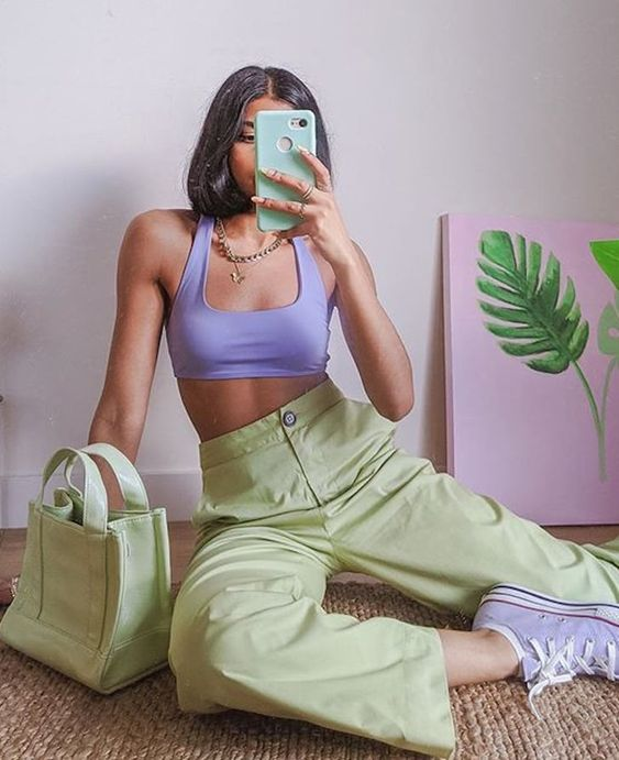 verde pastello colore primavera 2021