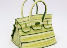 Birkin di Hermes con asparagi e zucchine