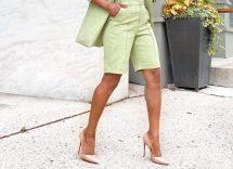 come indossare i bermuda in estate