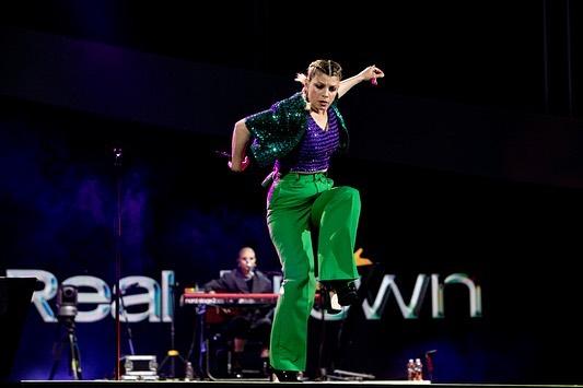 emma pantalone verde
