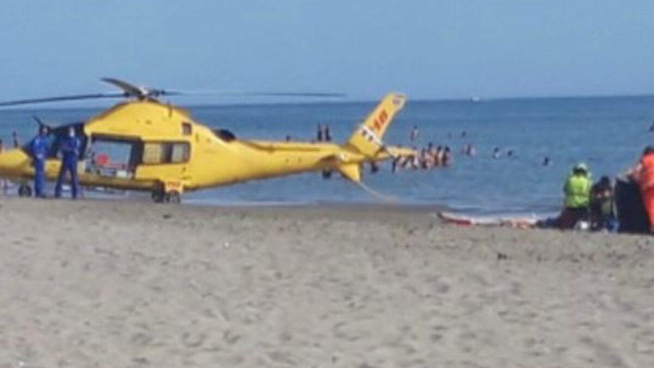 Dramma in spiaggia, Nicola muore sotto gli occhi dei familiari