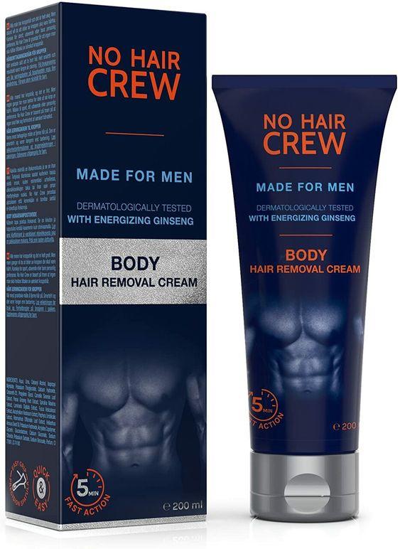 migliore crema depilatoria per uomo
