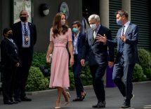 Kate Middleton e i look sfoggiati in finale: da Wimbledon a Wembley
