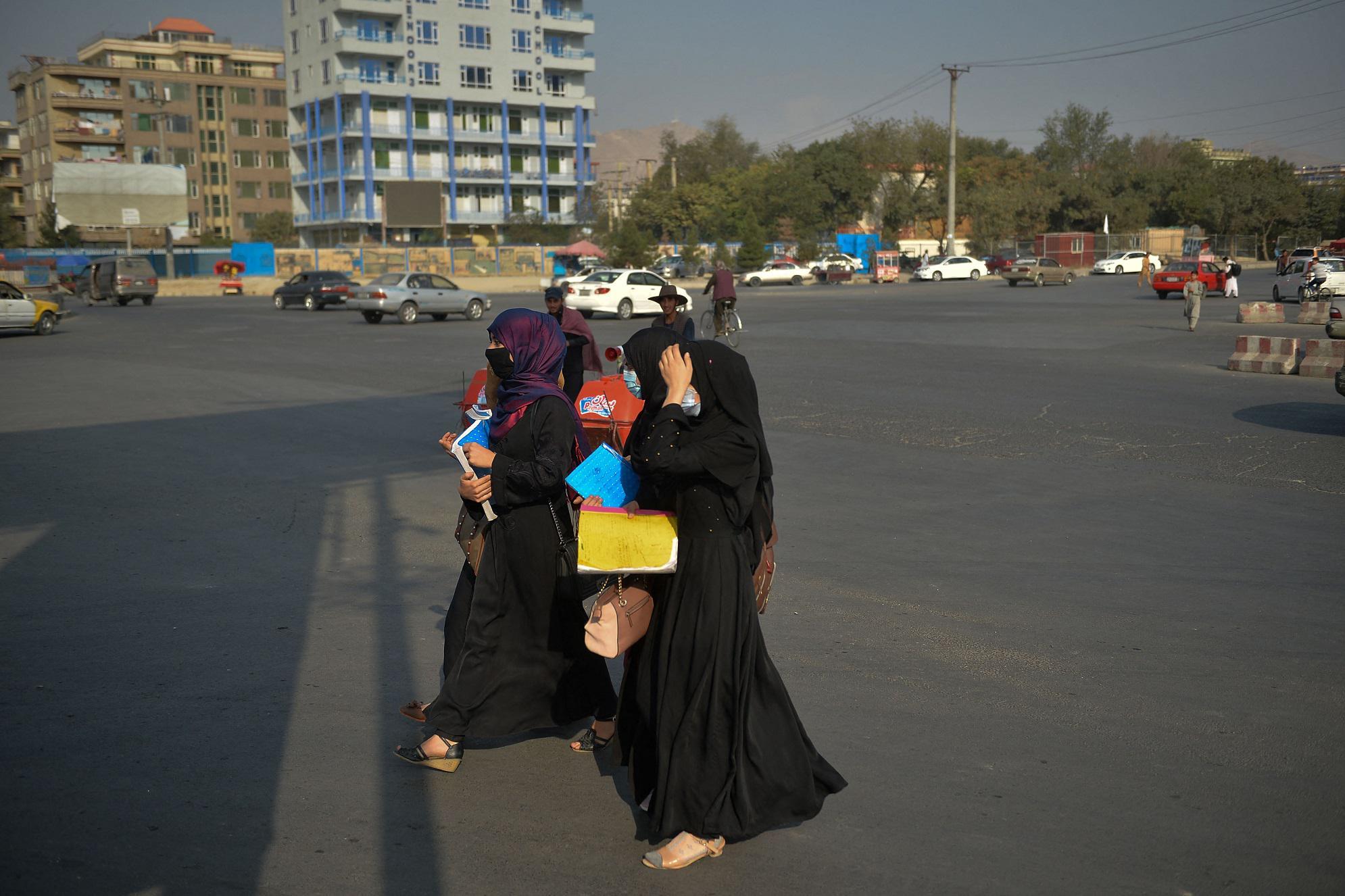 afghanistan donne università
