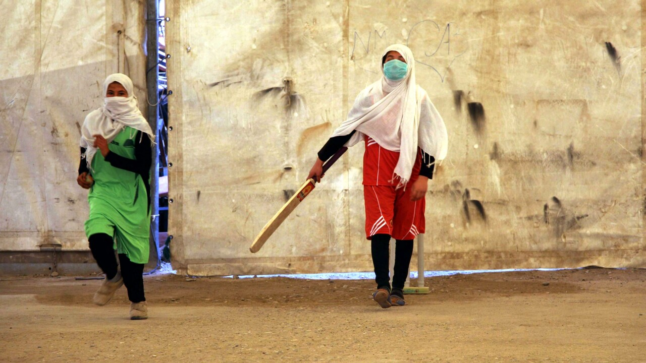 donne afghanistan sport