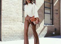 pantaloni autunnali da donna