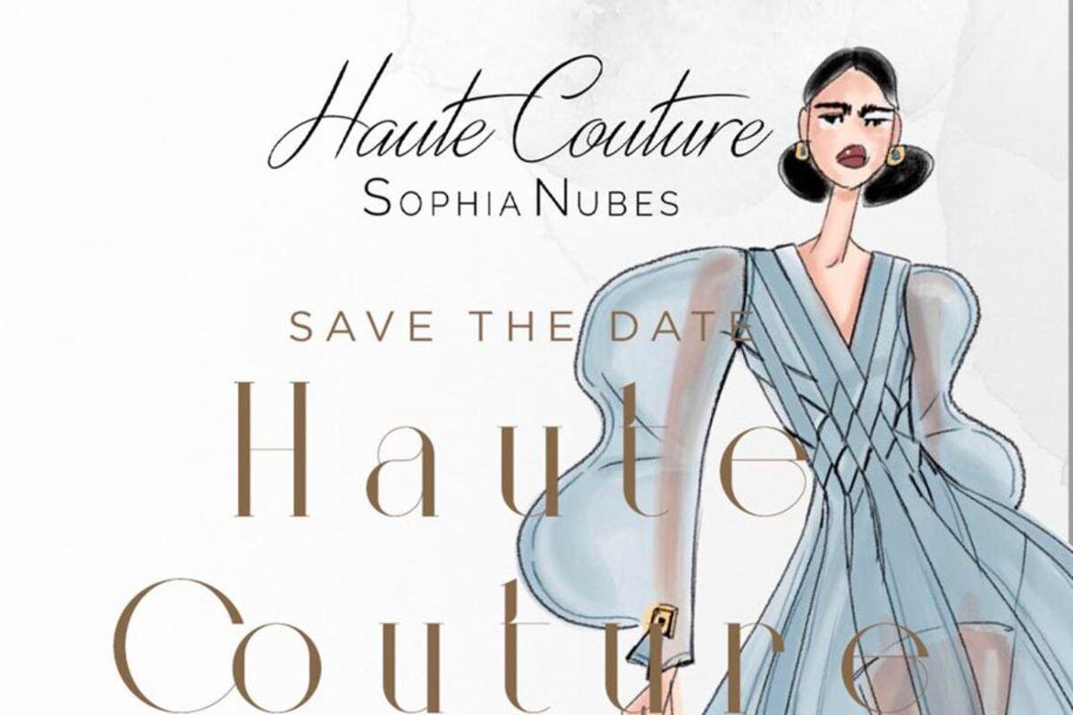 sophia nubes fashion week new york