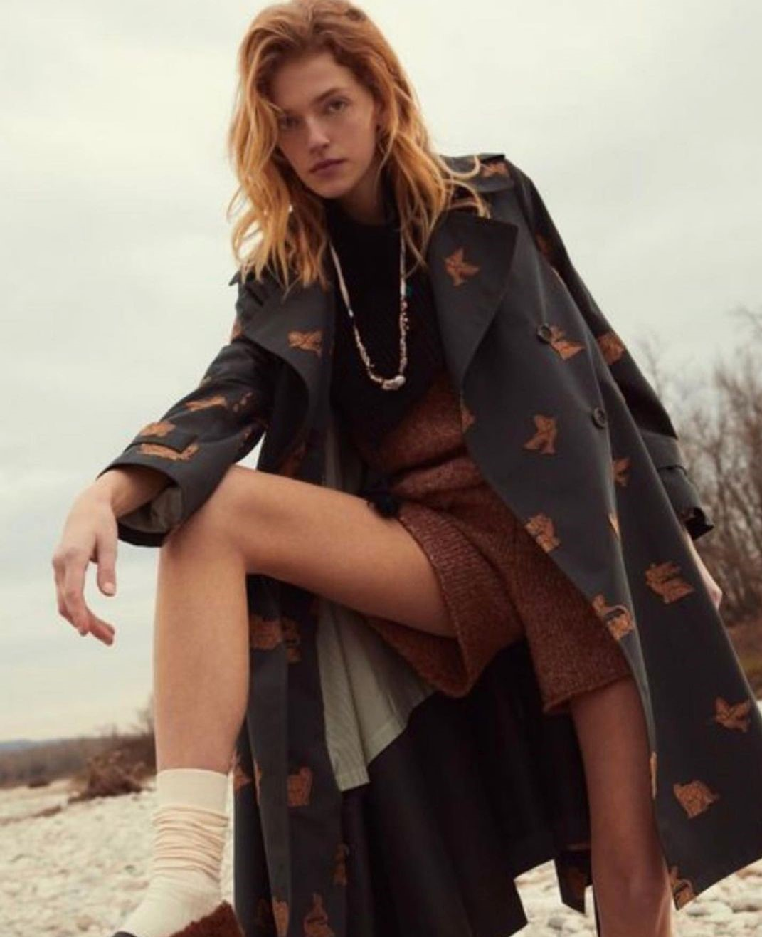 trench donna tendenza