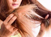 capelli che si spezzano