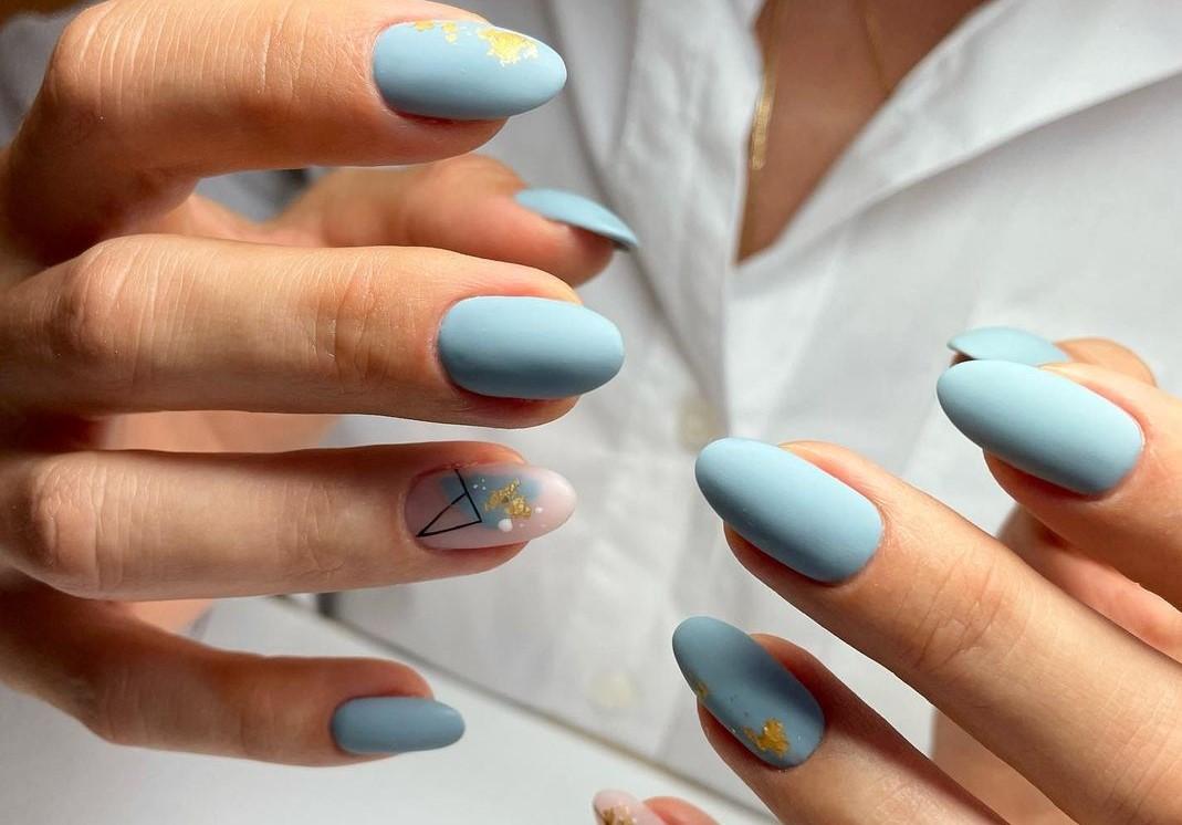 manicure matte autunno 2021